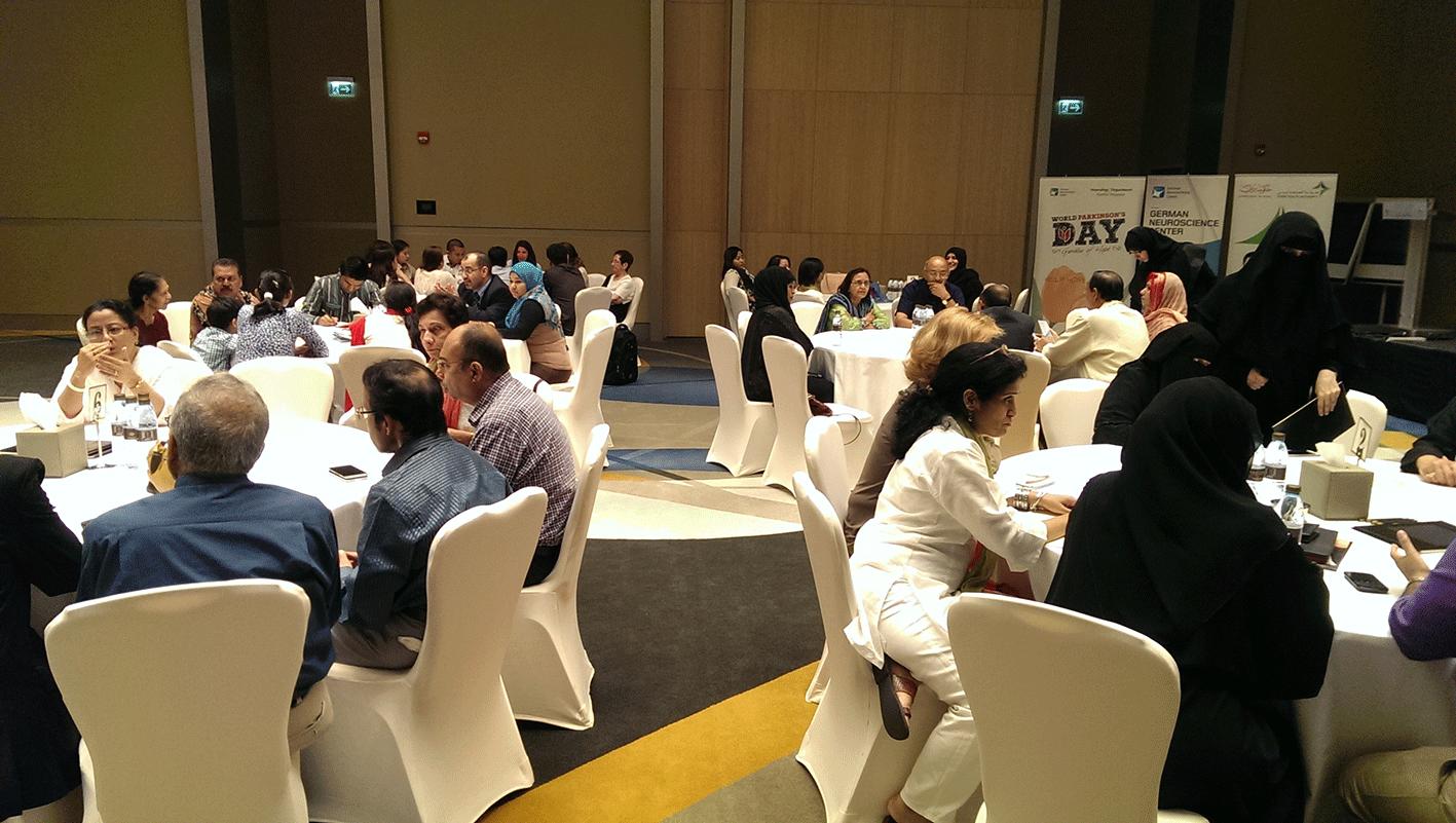 World Parkinson Day Dubai