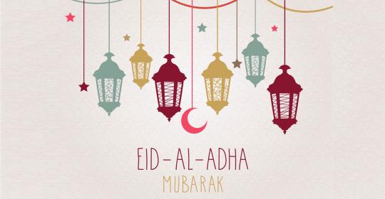 Eid Mubarak – Eid Al Adha 2020