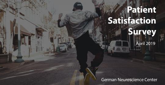Patient Satisfaction Survey – April 19