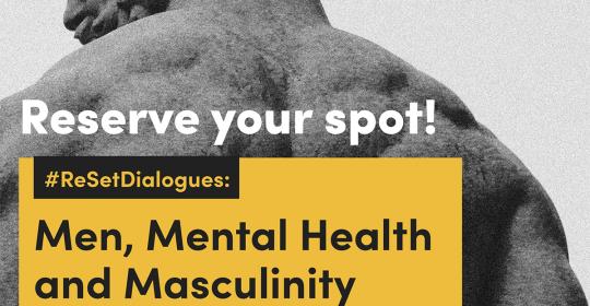 Re:Set x Tania's Teahouse – Wellness Week Men, Mental Health and Masculinity