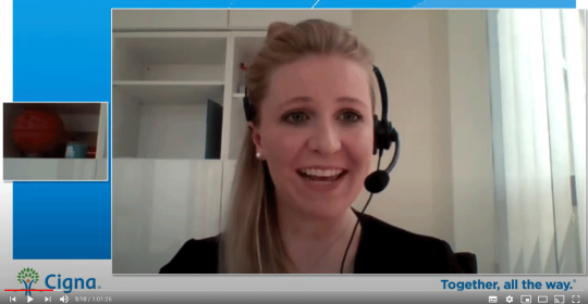 Dubai Psychologist, Kim Henderson, on Youtube – Cigna Live: Transitioning out of COVID19 Lockdown