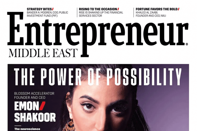 Staying Focused In Overwhelming Times – Dubai Psychologist, Alfred, in Entrepreneur Magazine