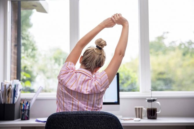 Working from Home? Take Care of your Back and Neck